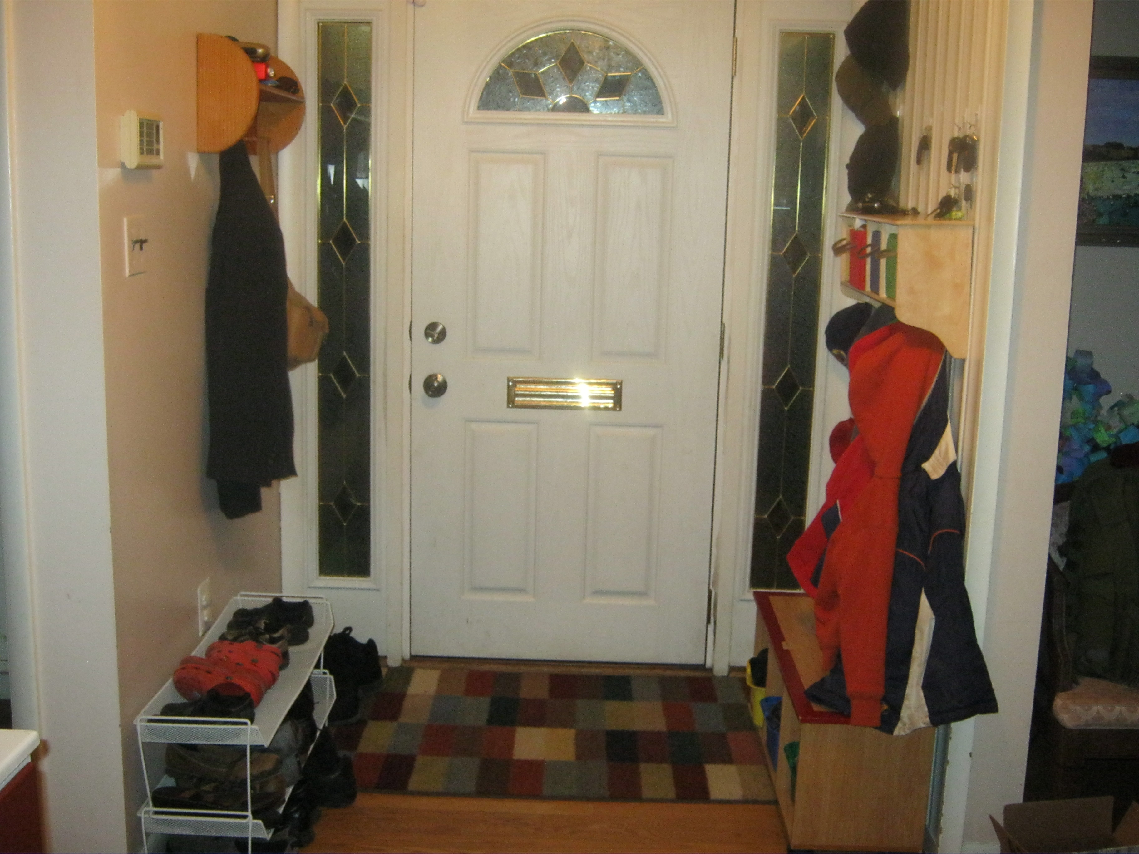 52 week challenge week 3 entryway mudroom organized jewish home