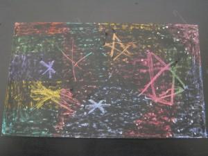 Scratch off paper stars 2
