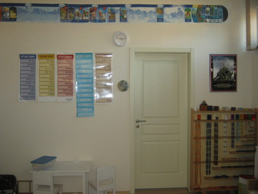 Side view of our schoolroom