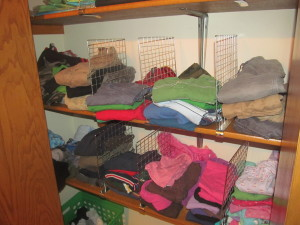 Family closet rental house